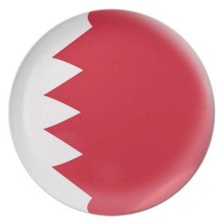 10 inch Plate Bahrain flag