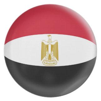 10 inch Plate Egypt Egyptian Flag