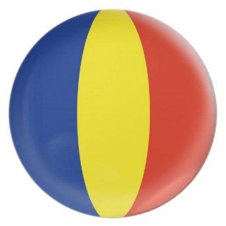 10 inch Plate Romania Romanian flag