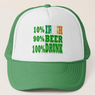 10% Irish Trucker Hat
