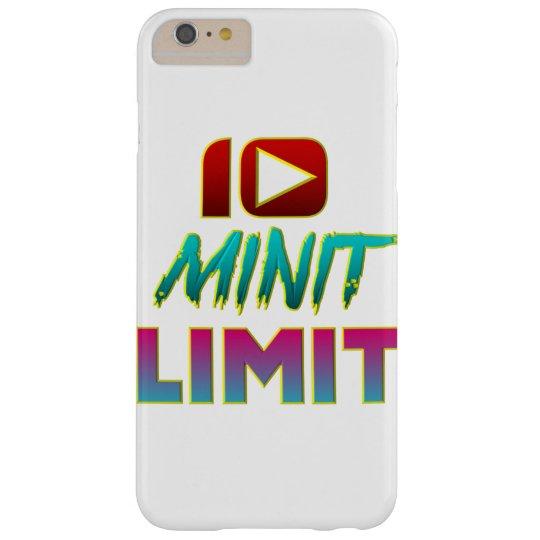 """""""10 Minit Limit"""" Case in Cyan"""
