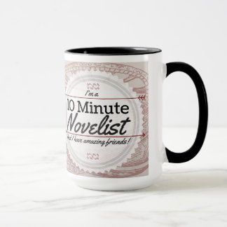 10 Minute Novelist Mug