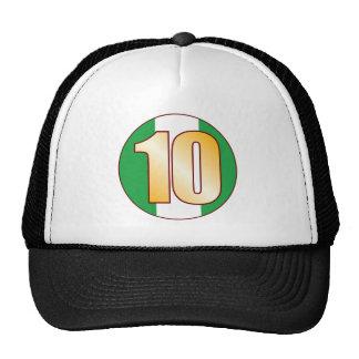 10 NIGERIA Gold Cap