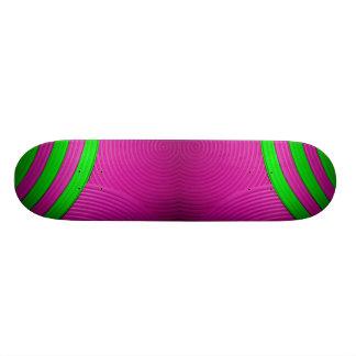10 Pink & Green Skateboard Custom Skate Board