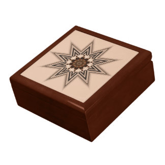 10 Point Star Jewelry Box