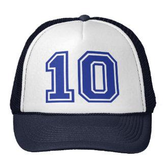 10 - ten cap