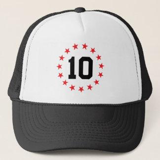 10/ten trucker hat
