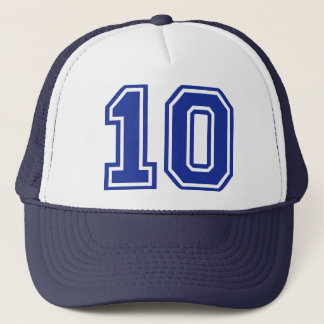 10 - ten trucker hat