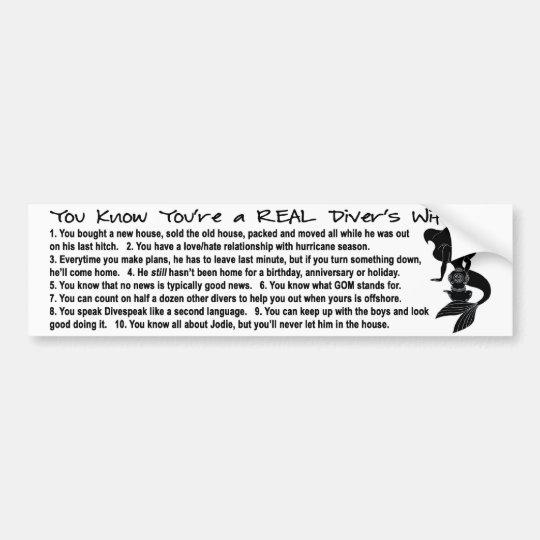 10 Things Bumper Sticker