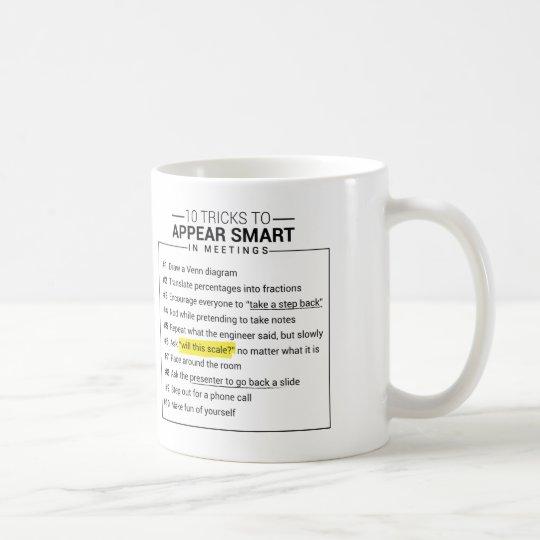 10 Tricks to Appear Smart in Meetings Mug
