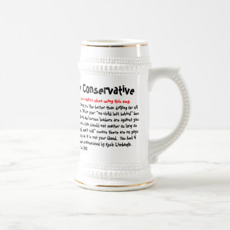 10 Ways To Tell If You're Conservative, Warning... Mugs