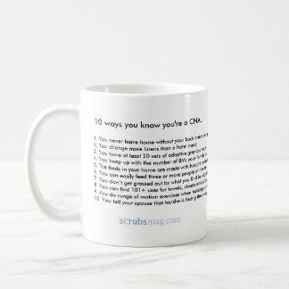 10 ways you know you're a CNA Coffee Mug