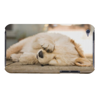 10 week old puppy rubbing its eyes iPod Case-Mate case