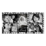 "10""x20"" 5 Slot Personalised Family Collage Montage Poster"