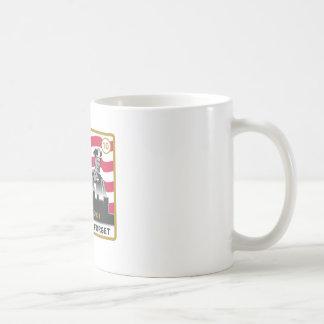 10 Year 9/11 Anniversary 3-Heroes Design Mug