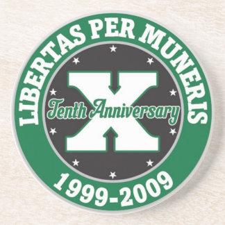10 Year Anniversary Coaster