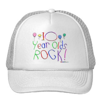 10 Year Olds Rock ! Mesh Hats