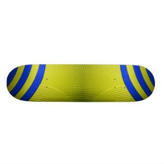 10 Yellow & Blue Skateboard Skateboards