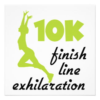 10K Green Finish Line Announcements