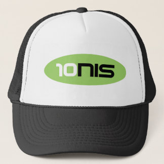 10NIS Tennis Brand Trucker Hat