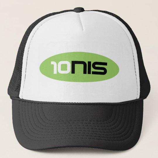 10NIS Tennis Brand Trucker Hat