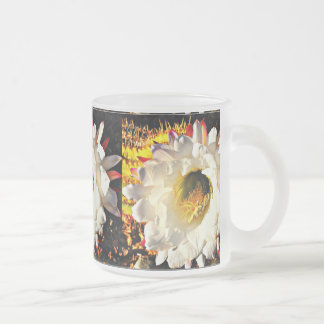 10oz Frosted Cactus Flower Mug