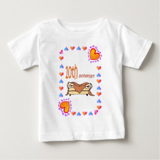 10th Anniversary Baby T-Shirt