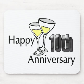 10th anniversary mouse mat