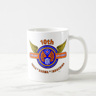 "10TH ARMY AIR FORCE ""ARMY AIR CORPS"" WW II MUGS"