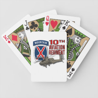10th Aviation Regiment - Apache Bicycle Card Deck