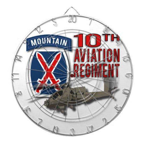 10th Aviation Regiment - Apache Dartboard