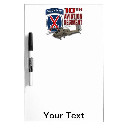 10th Aviation Regiment - Apache Dry-Erase Whiteboard