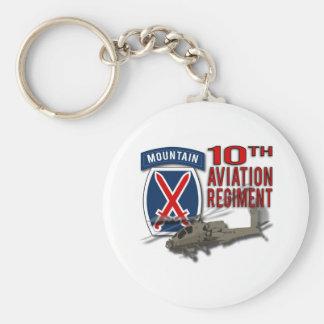 10th Aviation Regiment - Apache Key Chains