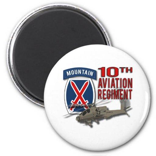 10th Aviation Regiment - Apache Refrigerator Magnet