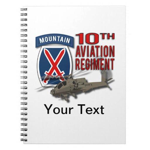 10th Aviation Regiment - Apache Note Books