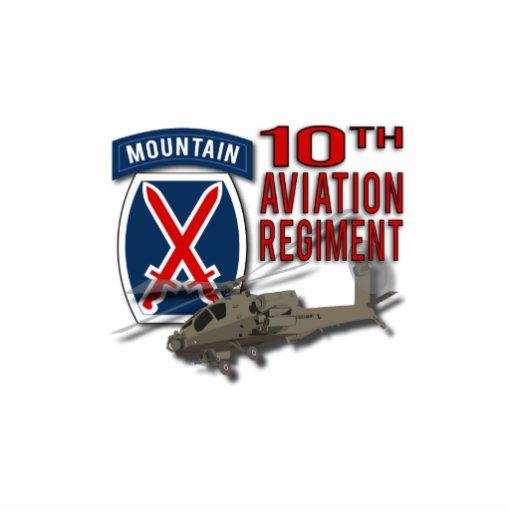 10th Aviation Regiment - Apache Acrylic Cut Outs