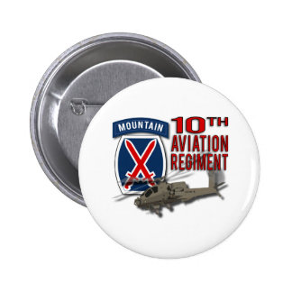 10th Aviation Regiment - Apache Pin