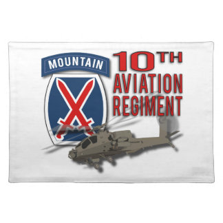 10th Aviation Regiment - Apache Placemat