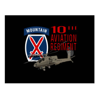 10th Aviation Regiment - Apache Post Card