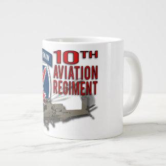 10th Aviation Regiment - Apache Jumbo Mugs