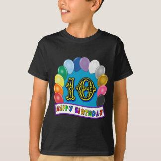 10th Birthday Balloon Arch T-Shirt