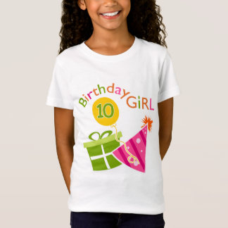 10th Birthday - Birthday Girl T-Shirt