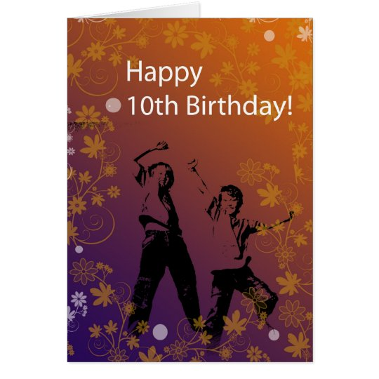 10th Birthday for Boys Greeting Card