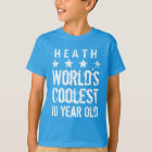 10th Birthday Gift World's Coolest 10 Year Old A14 T-Shirt