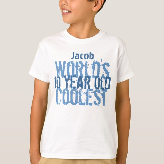 10th Birthday Gift World's Coolest 10 Year Old