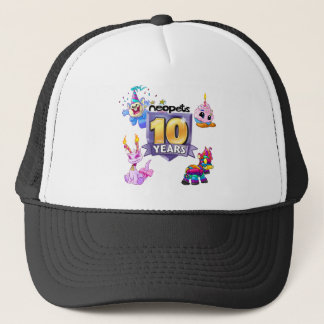 10th Birthday Logo Trucker Hat