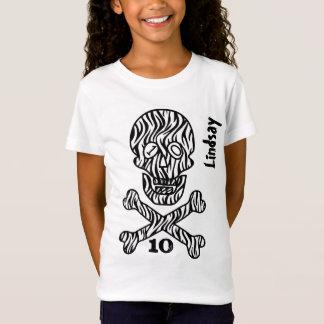 10th Birthday Skull and Crossbones 10 Years V02K T-Shirt