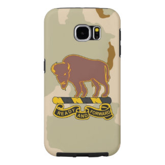 "10th Cavalry Regiment ""Buffalo Soldiers"" Samsung Galaxy S6 Cases"