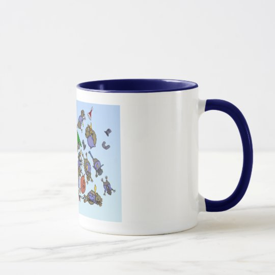10th Day of Christmas (Ten Lords a-Leaping) Mug