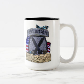 10th mountain division fort drum patch cup coffee mug